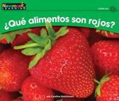 +qut Alimentos Son Rojos? Leveled Text