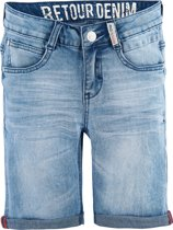Retour Jeans Jongens Short - Light Blue Denim - Maat 140