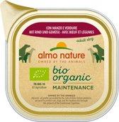 Almo Nature Alu Daily Menu Bio Adult 100 g - Hondenvoer - 32 x Rund&Wortel