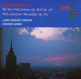 Viola Sonatas/Viola Suite From The Gadfly
