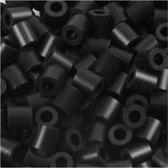 Foto kralen, afm 5x5 mm, gatgrootte 2,5 mm, schwarz (1), 6000stuks