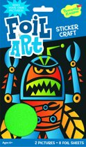 Peaceable Kingdom Foil Art Sticker Kit - Insectenrobot