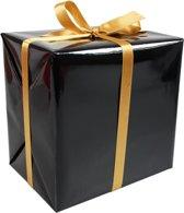 Cadeaupapier zwart 30cm x 200m