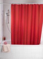 Papillon douchegordijn textiel rood 180(b)x200(h)cm