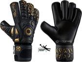 Elite Black Real Keepershandschoenen - Maat 9