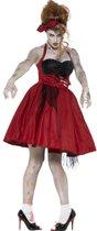 Zombie jaren 50 kostuum voor vrouwen - Volwassenen kostuums