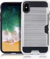 Mobigear Brushed Zilver iPhone Xs Max