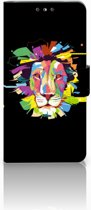 Nokia 5 Uniek Boekhoesje Lion Color