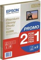 Epson Prem Glossy Photo Paper inktjet 255g/m2 A4 2x15 vel