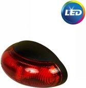 Zijmarkeringslamp rood 60x34mm LED