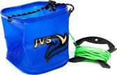 JVS Water Emmer met Koord - Blauw