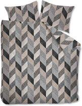 Beddinghouse Dawson Dekbedovertrek - Tweepersoons - 200x200/220 cm - Grey