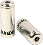 Elvedes Kabelhoedjes 5 Mm Zilver 50 Stuks