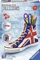 Ravensburger Sneaker Engelse vlag - 3D puzzel - 108 stukjes