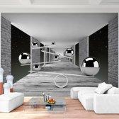 Foto Vliesbehang Muurposter 3D Ruimte C 308x220 cm