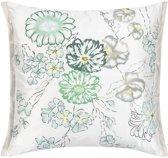 Designers Guild Ophelia Eau De Nil - Sierkussen - 50x50 cm - Groen