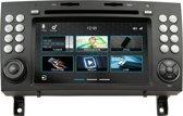 DVN N7SLK PRO Navigatie Mercedes SLK R171 dvd parrot carkit usb tmc apple carplay android auto Most