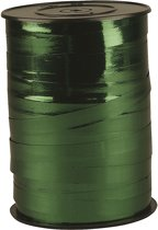 Krullint, b: 10 mm, groen metallic, 250 m