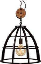 LABEL51 - Hanglamp Lift - Zwart - Industrieel - 47x47x42 cm