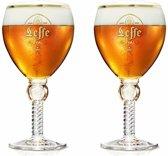Bierglazen Leffe Royal Glas 25 cl 2 stuks bierglas