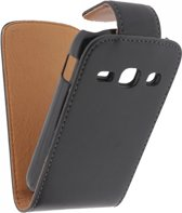 Xccess Leather Flip Case Samsung Galaxy Fame S6810 Black
