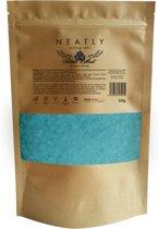 Badzout - Hemels relaxing van NEATLY I 250 g I Vermindert spierpijn en ontspant je spieren I Lavendel en Geranium I Ontgiftend badzout