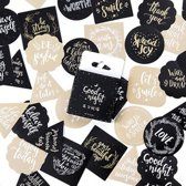 90x Leuke Scrapbook stickers | Good night
