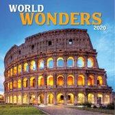 Kalender 2020 Wereldwonderen (30,5 x 30,5)