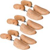 tectake - 3 paar professionele schoenspanners 46-48