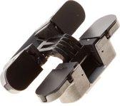 Kubica Onzichtbaar scharnier zwart RH-LH K6100