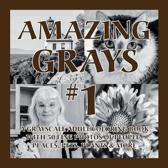 Amazing Grays #1: A Grayscale Adult Coloring Book with 50 Fine Photos of People, Places, Pets, Plants & More