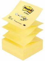 Post-it® Z-Notes , Navullingen, Canary Yellow™, 76 x 76 mm, 100 Blaadjes