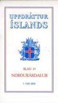 Topographische Karte Island 35 Nordurardalur 1 : 100 000