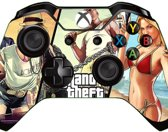 Xbox One Controller Skin Sticker - Grand Theft Auto V Icons