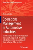 Operations Management in Automotive Industries