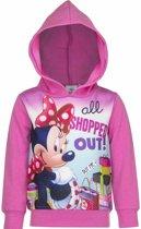 Minnie Mouse sweater roze voor meisjes 128 (8 jaar)