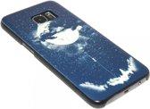 Eclipse maan en aarde hoesje Samsung Galaxy S7 Edge