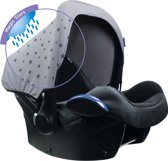 Dooky Hoody Autostoel Regenkap en zonnekap - Magic Rain