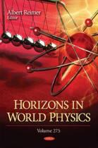 Horizons in World Physics