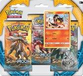 Pokémon TCG: 1 Sun & Moon 3 Pack Blister