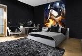 Fotobehang Papier Star Wars, Disney   Oranje   184x254cm