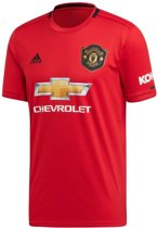 adidas Manchester United 19/20 Thuisshirt - Voetbalshirts  - rood - L
