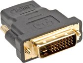 ROLINE HDMI-DVI Adapter, HDMI Female / DVI-D Male