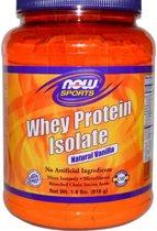 Whey Proteine Isolaat Vanille (816 gram) - Now Foods