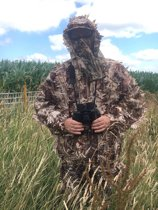 Leafy Ghillie Suit Dry Grass/Corn Airsoft Paintball Maat  S-L