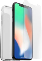 OtterBox Clearly Protected Skin + Alpha Glass voor Apple iPhone XS/X