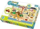 Giga Puzzle - De Bouwplaats Puzzel