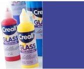 Creall Glass - glasstickerverf blauw 1 Fles - 80 Mililiter 20535