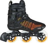 Powerslide Phuzion Trinity Xenon 100 Inline Skate Heren Inlineskates - Maat 42 - Mannen - zwart/oranje