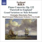 Ries: Piano Concertos Vol.3